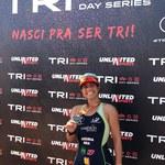 Aluna do IEFE, Lawinya Assíria, é destaque em Campeonato Brasileiro de Triathlon