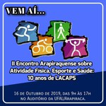 II Encontro Arapiraquense sobre Atividade Física, Esporte e Saúde: 10 anos de LACAPS
