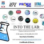 INTO THE LAB: Investigações científicas e Ações de Extensão dos Grupos Estudos, Pesquisa e Laboratórios do IEFE